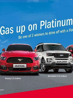 "Caltex Platinum rolls out ""Gas Up On Platinum, Win a Ford"" promo"