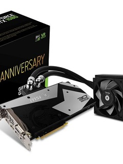 MSI partners with EK Water Blocks for GeForce GTX 1080 30th Anniversary edition