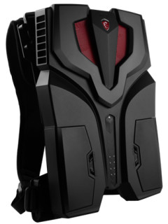 MSI debuts their VR One backpack at TGS 2016