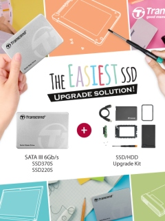 Transcend launches SSD+ Upgrade Kit for hassle-free SSD upgrade experience