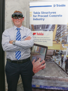 Trimble blends AR with construction using the Microsoft HoloLens