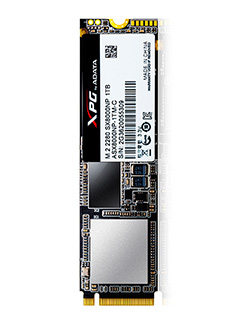 ADATA announces new flagship XPG SX8000 PCIe SSD with 3D NAND and NVMe support