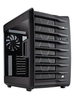 Corsair's lumbering Carbide Air 740 chassis has space for more hardware than you can afford