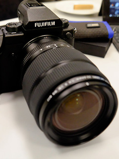 First looks at the Fujifilm GFX 50S medium format camera