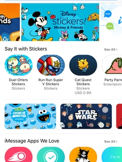 iMessage App Store offers sticker packs and apps ahead of iOS 10 update