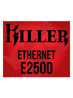 The new Killer E2500 NIC will debut by year's end on Gigabyte and MSI motherboards