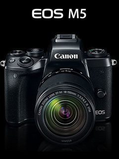 It's official! The Canon EOS M5 is here