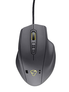 The Mionix Naos QG gaming mouse can monitor your stress levels as you play