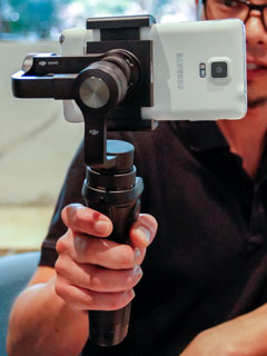 Hands on: The new DJI Osmo Mobile turns your smartphone into a steady cam