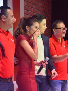 Platinum Karaoke launches Alpha Mic, introduces 'AlDub' as its newest brand ambassadors