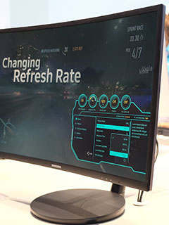 Quantum dot technology finds its way into Samsung's new curved gaming monitors
