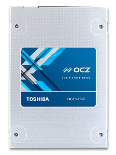 Toshiba announces new OCZ VX500 SSDs, targeted at mainstream market segment