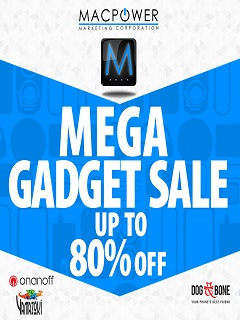 Macpower announces Mega Gadget Sale 2016 on September 28 to 30