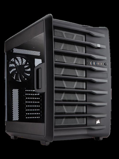 The Corsair Carbide Air 740 mid-tower chassis will soon be available in Malaysia