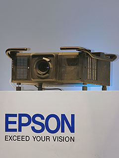 Epson launches 25,000-lumen EB-L25000U 3LCD laser projector; aims to make significant inroads into the high-brightness segment