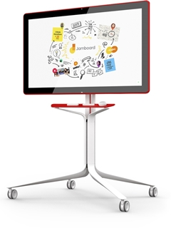 The Jamboard is Google's answer to Microsoft's Surface Hub