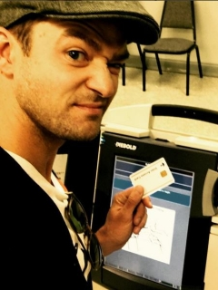 Justin Timberlake took a selfie in a voting booth, could be jailed for it