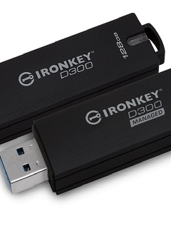 Kingston launches IronKey D300 and IronKey D300 Managed encrypted flash drives