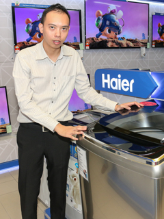 Haier showcases its latest home appliances at its first Malaysian brand store