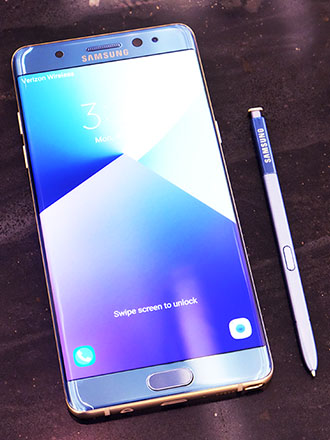 Chronicling the life of the Samsung Galaxy Note7