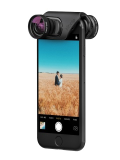 Olloclip's new lenses for the iPhone 7 have improved mounting system and optics