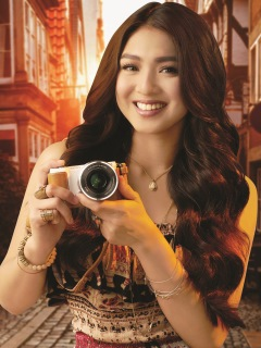 Sony Digital Imaging welcomes Nadine Lustre as its newest brand ambassador