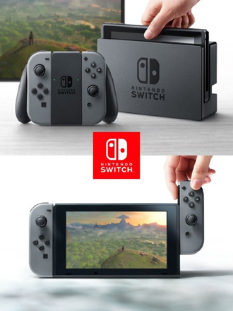 The Nintendo Switch is both a home and handheld console in one device