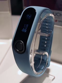 Measure your body fat with the TomTom Touch fitness tracker