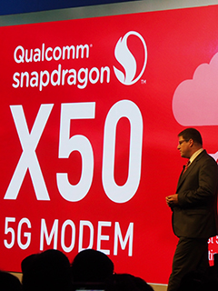 Thanks to Qualcomm's X50 modem, 5G networks is now here