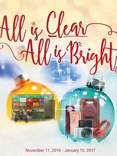 "Sony offers ""All is Clear, All is Bright"" deals for Christmas season"