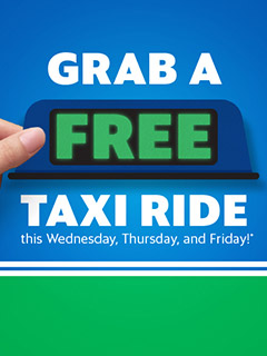 Got deal, got talk: Grab is offering free taxi rides for the next 3 days
