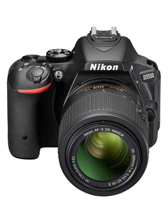 The entry-level Nikon D5600 is a slightly updated version of the D5500