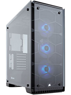 The Corsair Crystal Series 570X RGB is a beauty of a case wrapped in tempered glass