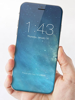 More reports emerge suggesting next iPhone will have a bezel-free design