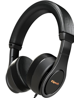 Klipsch's Reference On-Ear (II) headphones are designed for hours of listening comfort