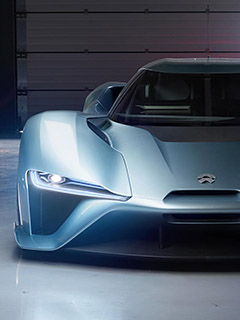 The NIO EP9 is a 1,341hp electric supercar from China