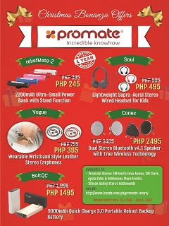 Promate Technologies drops prices of several gadgets for this holiday season