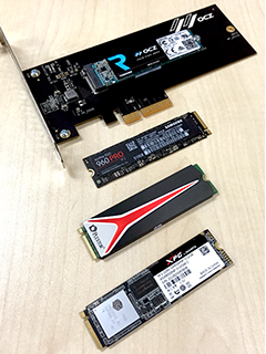 High-end PCIe SSD shootout: ADATA vs. Plextor vs. OCZ vs. Samsung