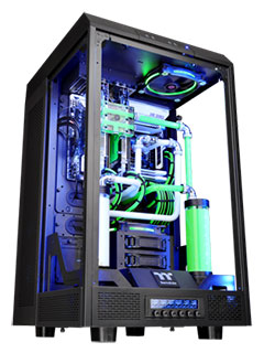 Thermaltake's new case is called The Tower, and it's a tempered glass marvel aimed at modders