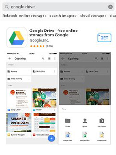 The iOS version of Google Drive is now an Android migration tool