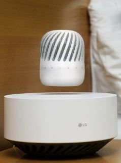 CES 2017: LG has a floating Bluetooth speaker
