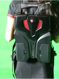 Gallery: Getting up close and personal with the MSI VROne backpack