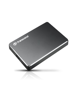Transcend launches extra slim StoreJet 25C3 hard drive
