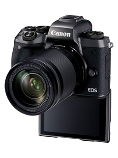 Canon unleashes top of the range EOS M5