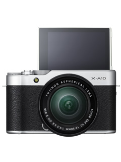 FUJIFILM's X-A10 has been made official