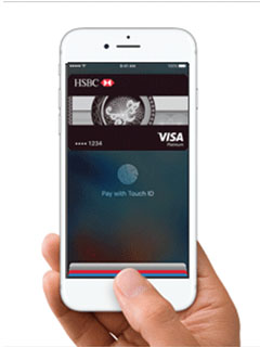 HSBC credit card holders can now use Apple Pay