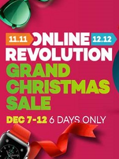Lazada to wrap up Online Revolution with Grand Christmas Sale until December 12