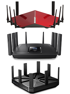 A feature on TP-Link Archer C5300 AC5300 Wireless Tri-Band MU-MIMO Gigabit Router