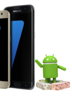 Android 7.1.1 update available for the Galaxy S7 and S7 edge in January