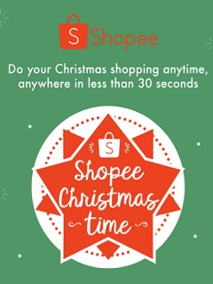 Shopee Christmas Time celebration continues with different sale promos